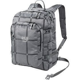 Jack Wolfskin Berkeley Y.D. Daypack grey big check